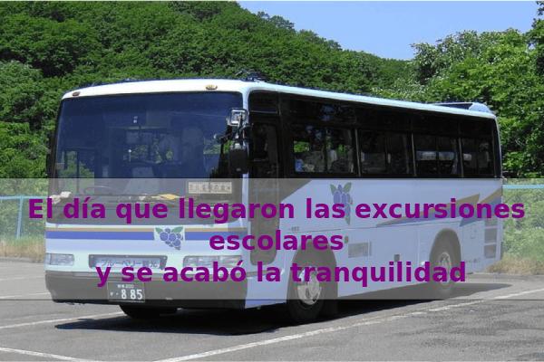 excursiones escolares en bus