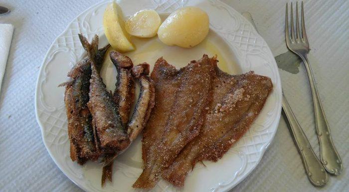 Pescaditos de Galicia en Hotel Leal