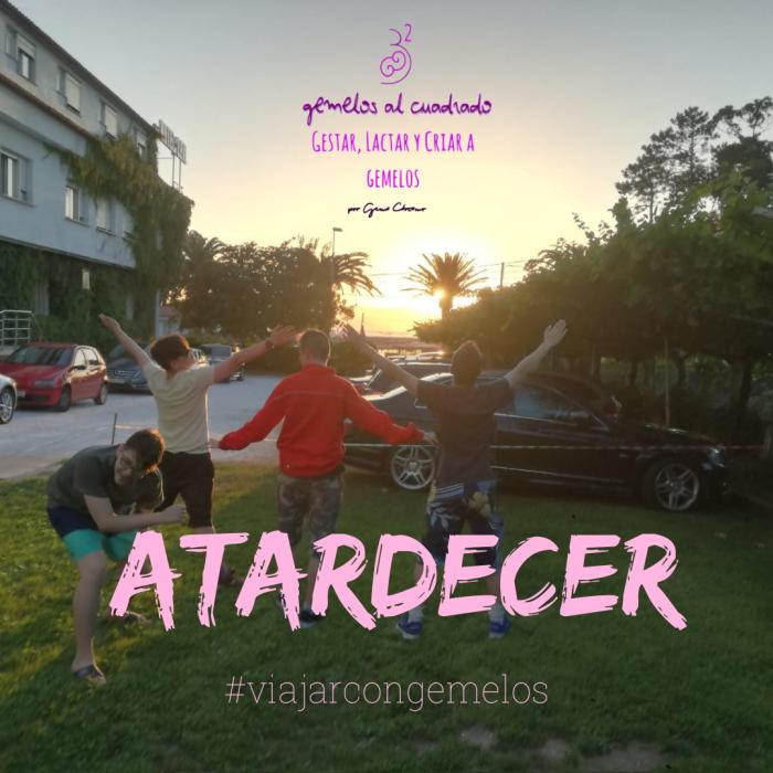 Desde el Jardín del Hotel Leal en nuestras vacaciones en Galicia 2018