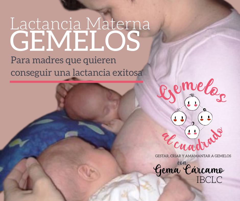 curso lactancia materna gemelos para madres
