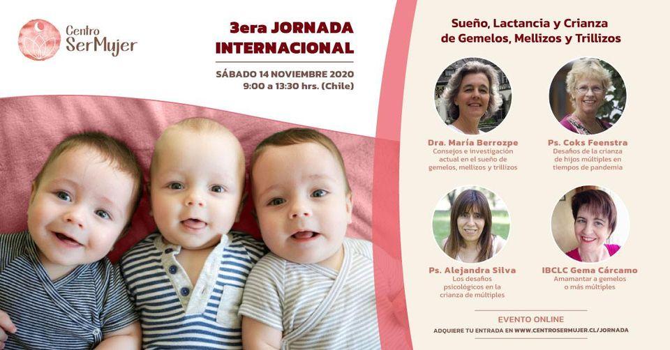 Tercera Jornada Internacional Sueño Lactancia y crianza de gemelos